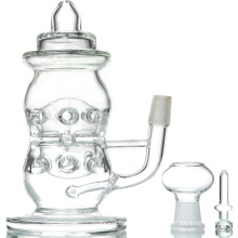 Clear Baby Bottle DAB Rig for Daily Use (ES-GB-091)