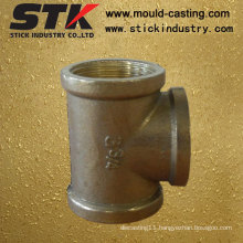 Gravity Cross Casting Brass Parts for Pipe Fitting Valve