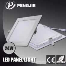 300X300 24W White LED Panel Light with CE RoHS (PF>0.9)