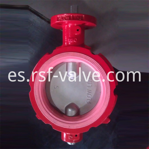 Nature Rubber Seat Butterfly Valve