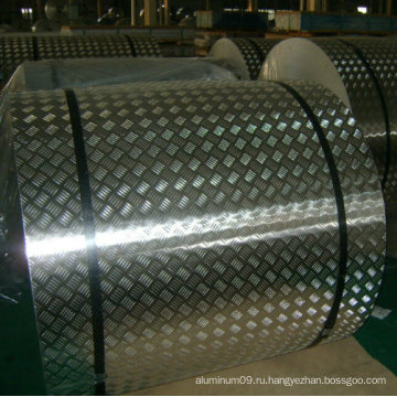Противоскользящая алюминиевая клетчатая пластина для плиты с прокладкой для плиты One Bar, Five Bar