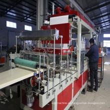 Máquina de extrusión de encofrado de construcción de maquinaria de plástico-WPC
