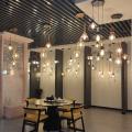 Lustres de teto led para decoração de casa