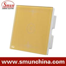 1 Chave Interruptor De Parede De Ouro, 1gang / 2gang / 3gang / 4gang Casa Usado Interruptor De Controle Remoto