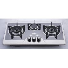 Table de cuisson à gaz à trois brûleurs (SZ-LW-131)