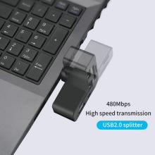Leitor de cartão rotativo HUB SD TF USB 2.0