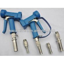 Blue brass or stainless steel wash down gun