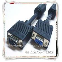 Câble d'extension VGA M / F mâle à femelle pour ordinateur vidéo LCD CRD MONITEUR