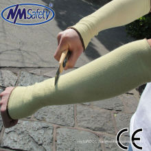 NMSAFETY aramid sleeve cut resistance glove
