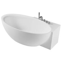 Banheira de acrílico independente com torneira