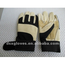 Рабочие перчатки из свиной кожи для масляной обработки