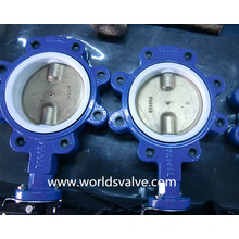 Double Shaft Lug Type Butterfly Valve