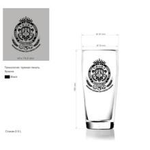 Copo De Vidro Copo De Cerveja Copo De Vidro Uísque Tumbler Kb-Hn03591