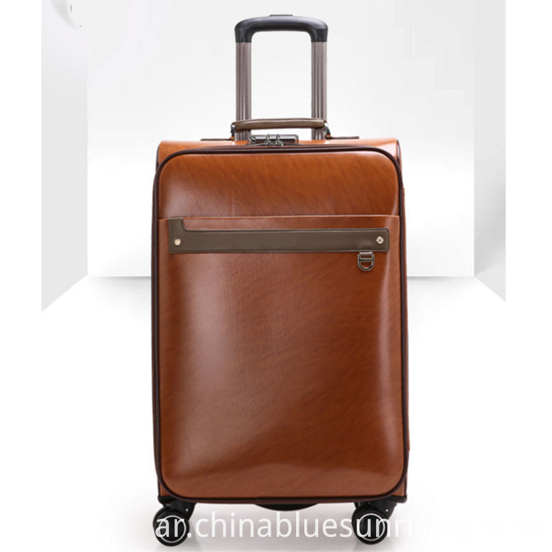 PU luggage