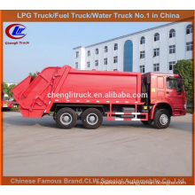 HOWO Ordures Compacteur Camion Garbage Compactor