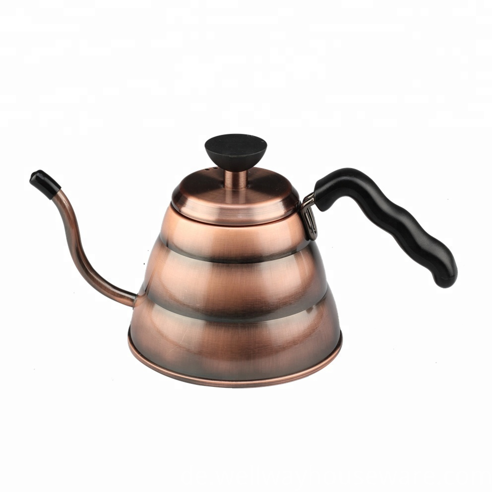 Copper Gooseneck Kettle Stainless Steel For Hand 1