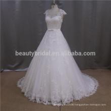 Modest beaded butterfly beaded wedding dress kurze brautkleider