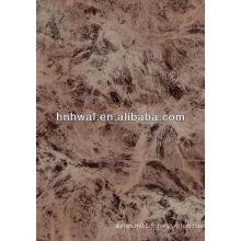 Feuilles de revêtement en marbre en aluminium PVDF (1050,1060,1100,3003,3014,5005,5052)