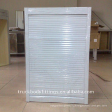 Шкаф алюминиевая Штарка ролика тележки шкафа двери крена-вверх