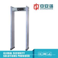 Détecteur de métaux de niveau 255 à détection de corps humain haute précision