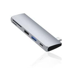 HUB USB C multifonctionnel avec chargeur PD