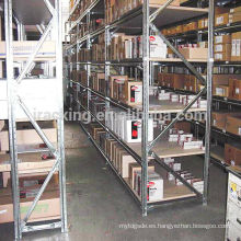 Jracking Alibaba China Medium Duty Book Rack Almacén Estantería metálica