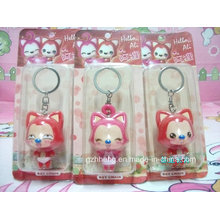 Custom small plastic printed box for keychain (PET box)