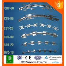 [Anping Factory] Galvanized Concertina Razor Wire For Sale