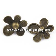 Цветок формы сплава кулон ювелирные изделия