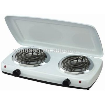 2 Plate Hot Plate Burner me Cover