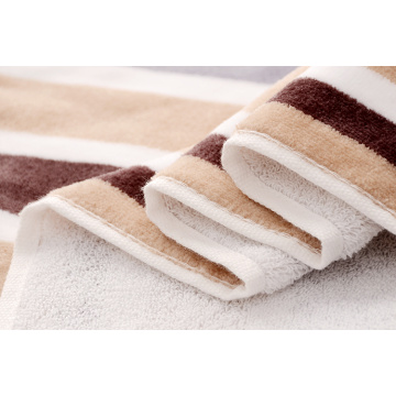 Potong Pile Boven Dyed Stripe Towels