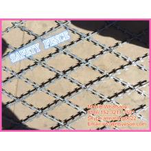 BT0-22 гармоника бритва колючая безопасность сварные сетки забор