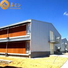Casa de pollo de acero prefabricada de dos pisos (PCH-14)