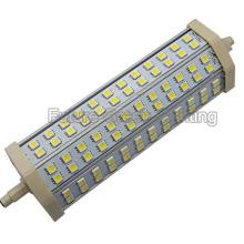 15W R7s LED Floodlight pour remplacer la lampe à halogénure (5050 72PCS LED 189mm)