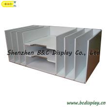 Cartón cubbyhole, casillero de papel, papelería de oficina, mostrador, tabla PDQ (B & C-D040)