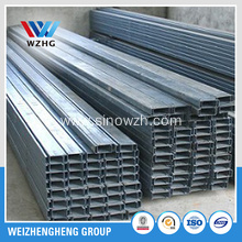 C Channel purlins , structure steel