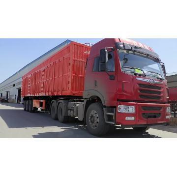 Full Trailer of Gate Dump Truck