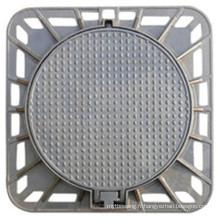 Vente chaude En124 D400 couvercle de trou d'homme en fonte