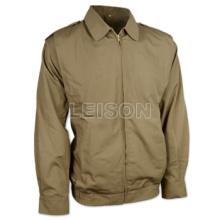 Militar jaqueta adotando 100% algodão
