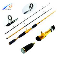 CTR004 china pesca tackle vara de pesca baitcasting lançando vara de pesca
