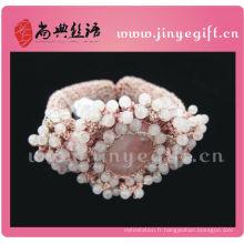 Shangdian Handcrafted Vintage perlé au crochet Bracelet Femmes Accessoires