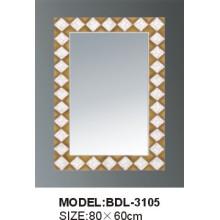Espejo de baño de vidrio de 5 mm de espesor de plata (BDL-3105)