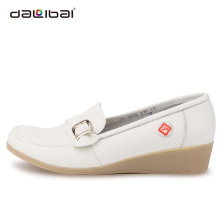 best quality white wholesale nurse shoes with wedge heels