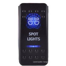 12V/24V Spst Marine Zombie Lights Rocker Switch