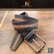 Nova venda quente Melhor venda personalizada Foldable dobrável moda genuína pu cintos para homens genuína pu jeans cinto para o homem