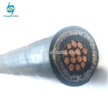 450 / 750V 2.5mm2 cu xlpe aisló la cinta de acero Cable eléctrico blindado del control