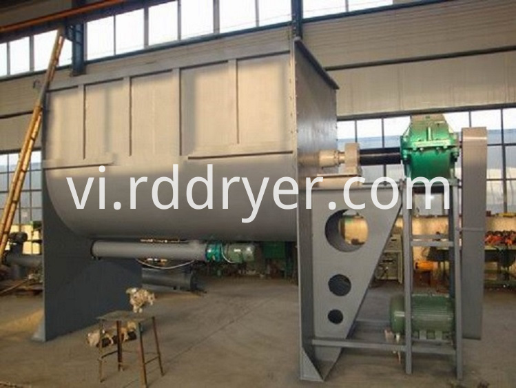 High Efficiency Plow Shear Blender