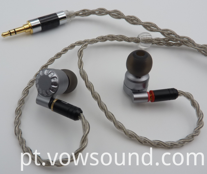 IEM Earphones with Detachable Cable