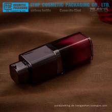 ZB-RK15 15ml Farbe anpassbare heiß-Verkauf quadratischen schwarzen 15ml airless Flasche