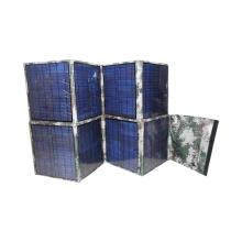 Bolso plegable del cargador de la energía solar del dispositivo móvil grande de 80W usado en la radio del ejército